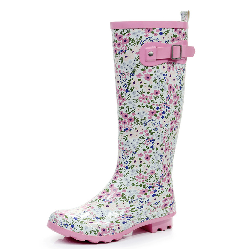 Popular Floral Rain Boots-Buy Cheap Floral Rain Boots lots from