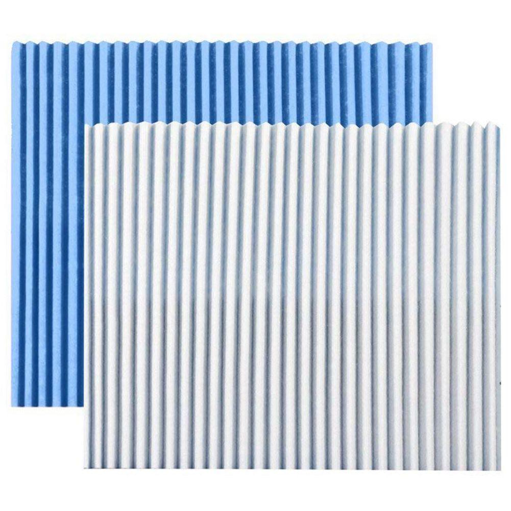Gran oferta 5 hojas purificador de aire Filtro de reemplazo filtro de pliegues reemplazo polvo filtro de pliegues|Piezas para purificadores de aire|   - AliExpress