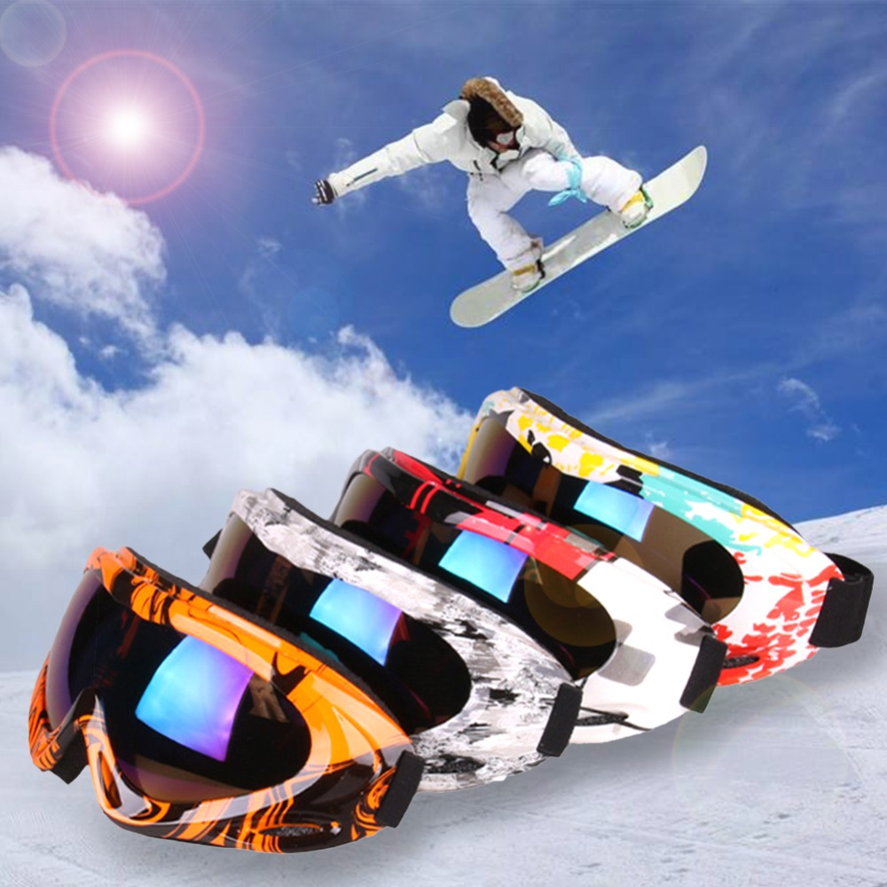 Cool Ski Winter Snow Sports Snowboard Goggles With Anti Fog Uv Protection Universal Snowmobile Skiing Skating Mask 280065 Cycling Eyewear Aliexpress