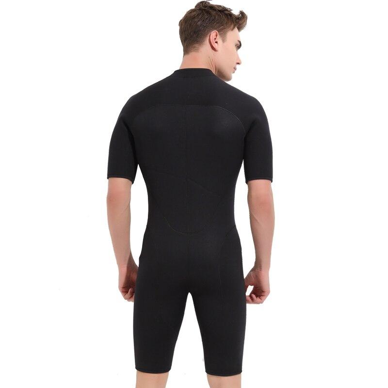 SBART 3 MM néoprène combinaisons hommes pour natation plongée sous-marine Surf Mergulho équipement une pièce manches courtes combinaison humide Triathlon N - 3