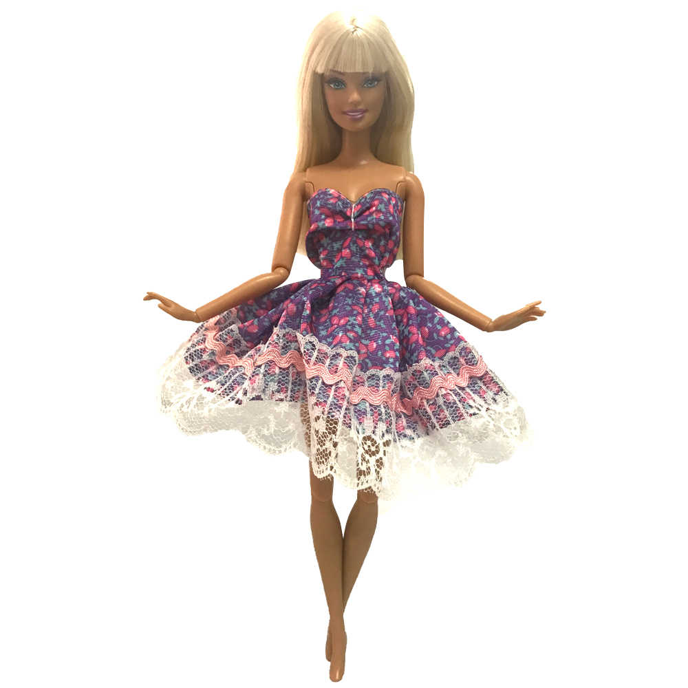 Как сделать красивое платье для куклы барби фото 856