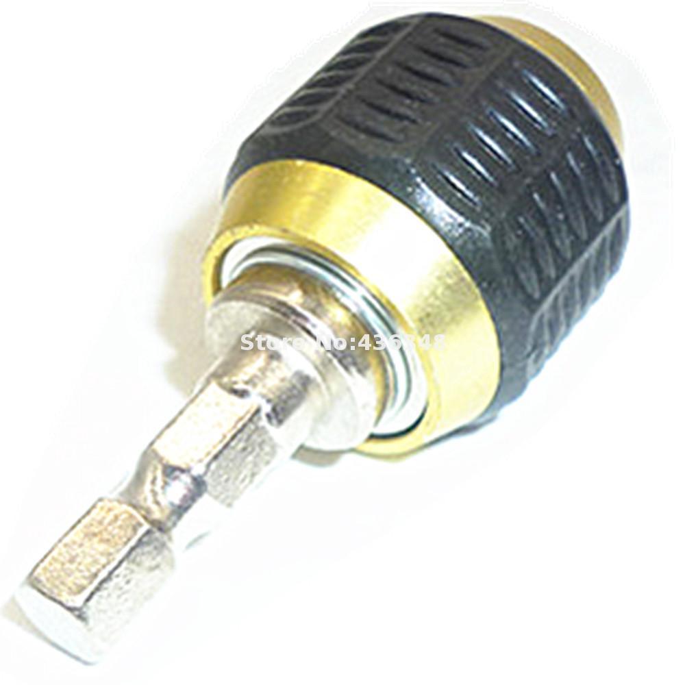 1//4 Inch Hex Shank Quick Chuck /& Grip Drill//Screwdriver Bit Holder Adaptor