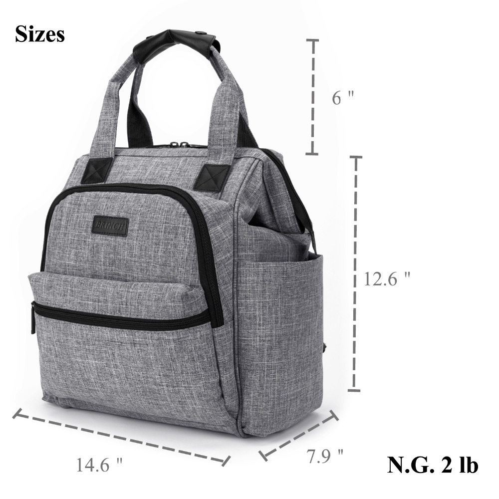Nappy Yummy Mummy Changing Maternity Baby Bag Multifunctional Backpack Diaper Changing Bags