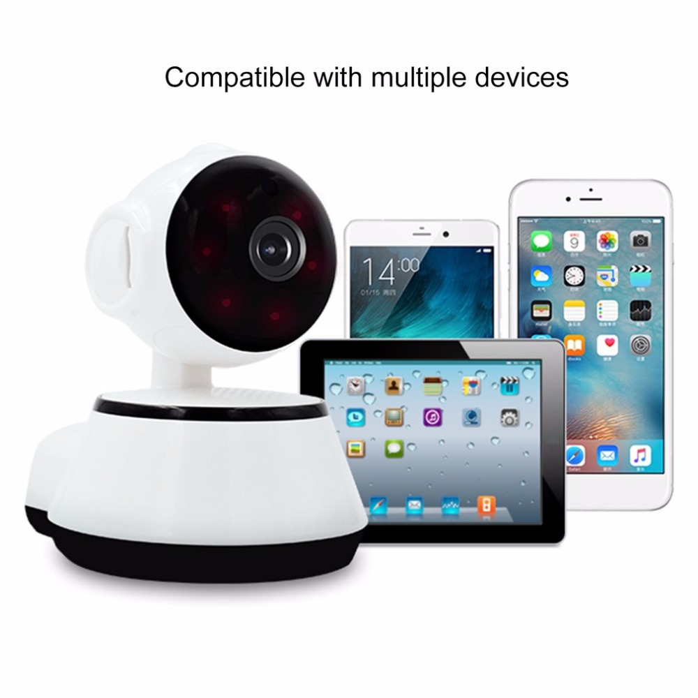 Mini IP Camera 720P Wireless Smart WiFi Camera IR Night Vision Surveillance Two Way talk Audio Record Baby Monitor Home Security smart mini camera wifi support two way audio night vision sd card onvif motion detect camera with wifi for home security