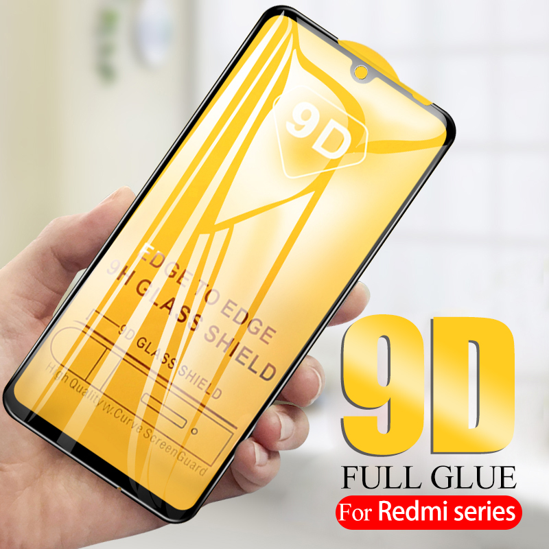 9D Curved Protective Glass Redmi K20 Tempered Glass Xaomi Redmi Note 7 Glas For Xiaomi Redmi Note 6 Pro 5 Plus 6a 4x S2 9H Film