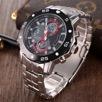 Original Men G Quartz Shock Watch Luminous Famous Brand Men Business Watch Waterproof Watches Clock Stainless Steel Wristwatches