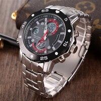 Original Men G Quartz Shock Watch Luminous Famous Brand Men Business Watch Waterproof Watches Clock Stainless Steel Wristwatches