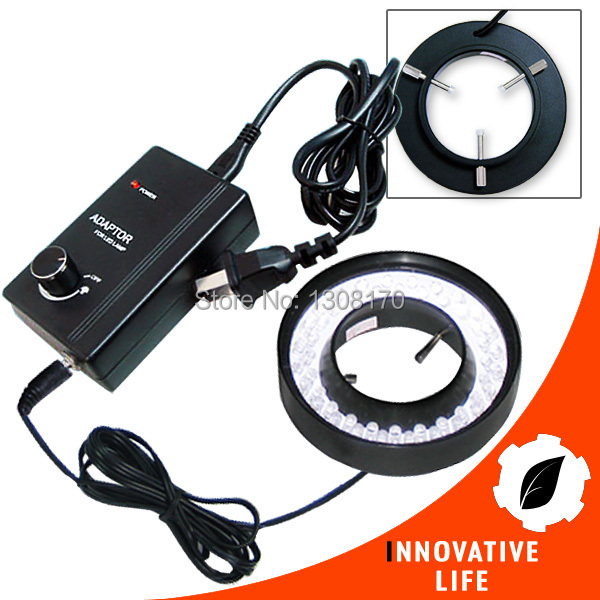 Lamp Camera Microscope 48 LED Bulb Ring Light 43mm-151mm Light range Illuminator Illumination 110V/220V