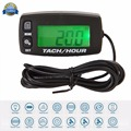 Digital Resettable Inductive Tacho Hour Meter Tachometer Boat For Motorcycle Marine Boat ATV Snowmobile Generator Mower