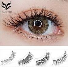 3-Pairs Sharpened False-Eyelashes Eye-Makeup-Tools Handmade Fashion 7-Types Faux-Cils