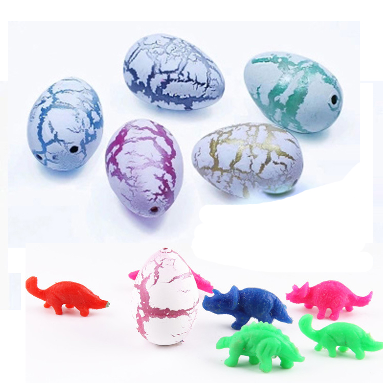 Novel Water Hatching Inflation Dinosaur egg Dinosaur toy Creative toy Dino egg model Magic toy learning Educational Toys