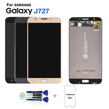 IPS New LCD For Samsung Galaxy J7 V J727 J727A J727P J727V LCD Display touch Screen Digitizer For Samsung j7 V 2017 J727 lcd