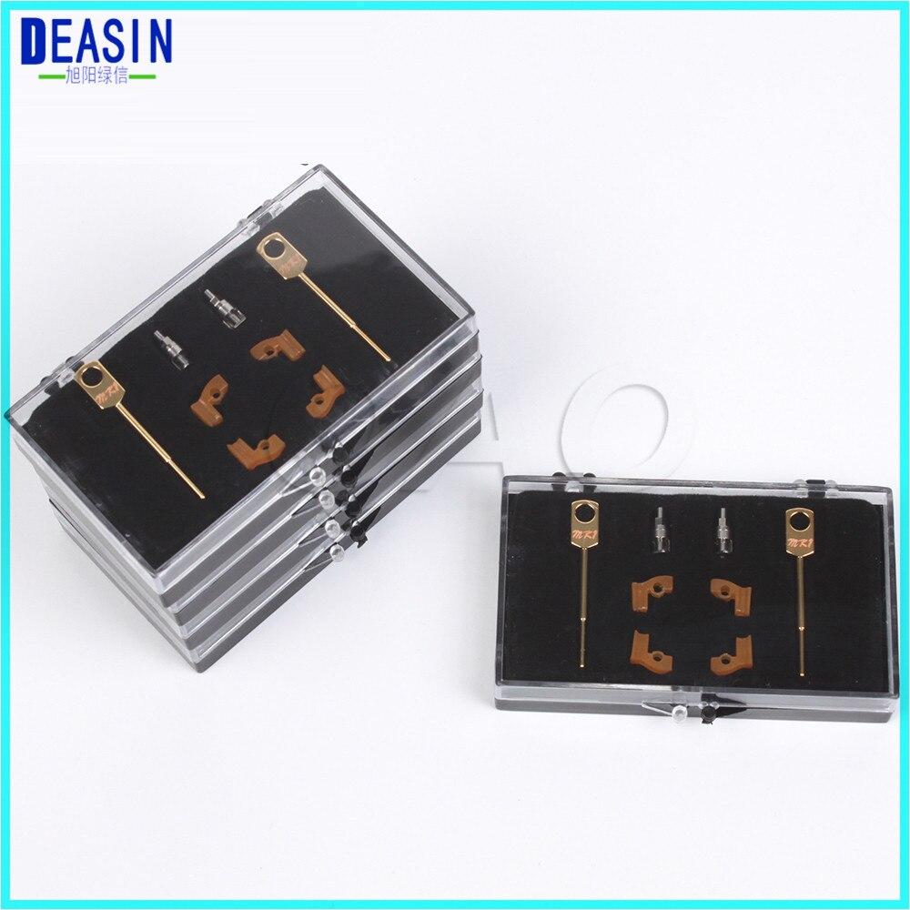 2 Sets box Dental Lab Technician Instrument MK1 Attachments Parts for Metal Partials Dental Material Products