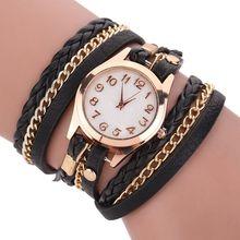 Fashion Women Bracelet Watch Vintage Qua