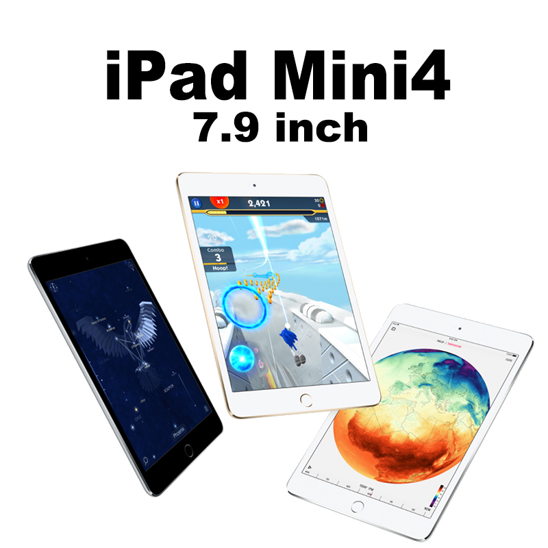 Apple Mini4 Two HD Cameras 10 Hours Tablets 128G WiFi Retina Display A8 Chip