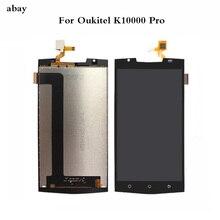 5.5 Oukitel K10000 Pro の Lcd ディスプレイ + タッチスクリーンデジタイザアセンブリ 100% テスト液晶画面のための k10000 プロ