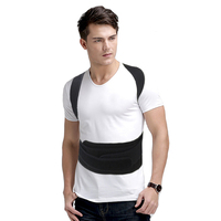 Adjustable Back Posture Corrector Brace Support Back Shoulder Support Belts Correction Postural Orthopedic Back Belt Men Women