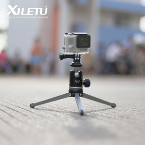 Image 2 - XILETU MT26+XT15 High Bearing Desktop Bracket Mini Tabletop Tripod and Ball Head For DSLR Camera Mirrorless Camera Smartphone