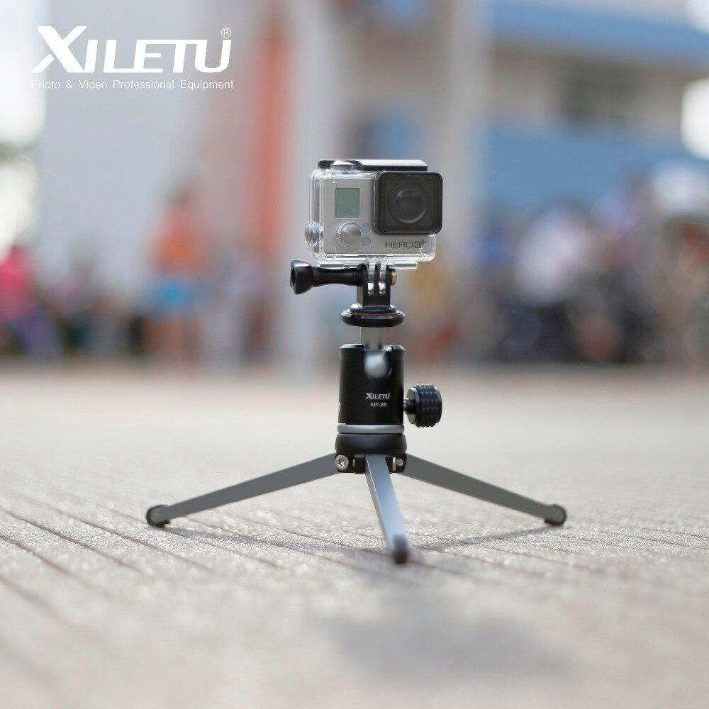 Image 3 - XILETU MT26 + XT15 высокий подшипник кронштейн для столешницы мини настольный штатив и шаровая Головка для DSLR камеры беззеркальная камера смартфон-in Штативы from Бытовая электроника