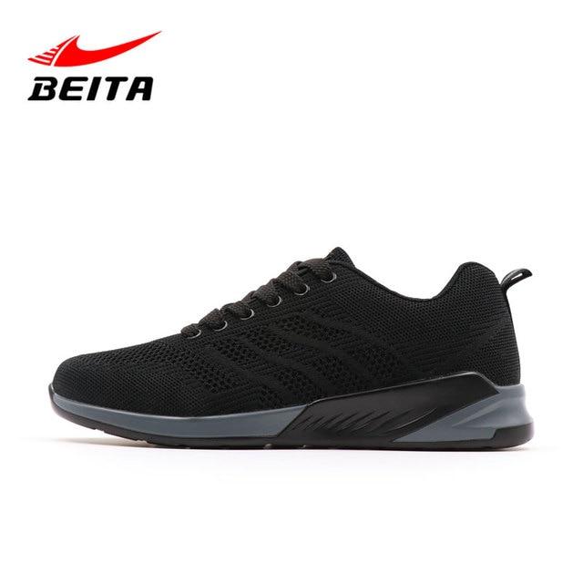 Beita Sport Hommes Marque Chaussures de Course Lumière Baskets Air Max  respirant Hommes Chaussure de Course