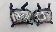 Наивысшего качества противотуманные лампы для KIA K2 Kia Rio 2014-15, с H8 лампы, 12 В, 35 Вт, одна пара 2 шт.
