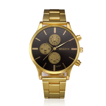Luxury Brand Vintage Gold Wristwatch 1