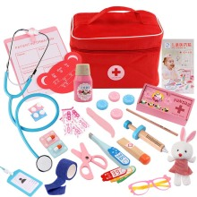 2019 NEW Kids Doctor Toys Role-playing Games Doctor Sets Dentist Medicine Box Pretend Doctor Play Toys for Children wood doctor toys mini pretend play toys for children fun indoor desk toys