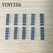 50PCS  1% 2512 SMD Resistor Samples kit ,10 valueX5pcs=50pcs 1R00 R500 R470 R330 R220 R200 R150 R100 R050 R010