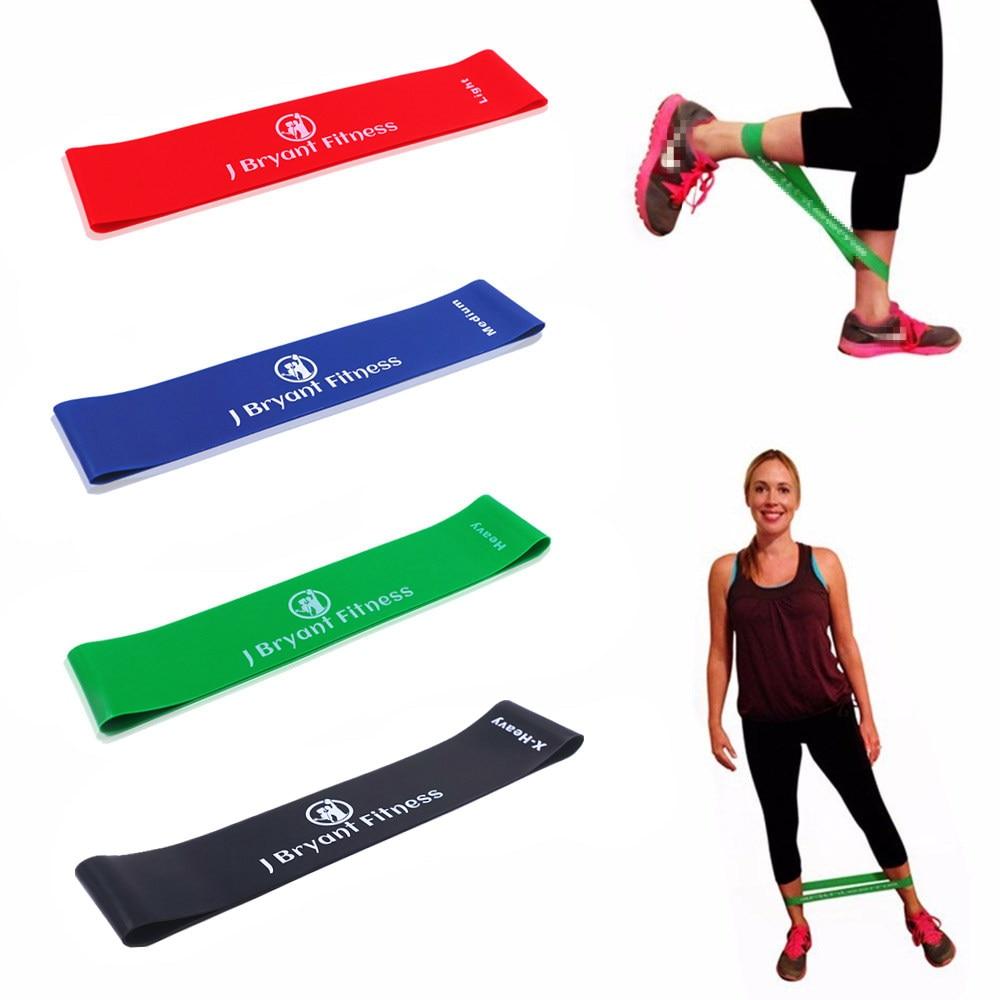 Direnç Bantları Lastik Bant Egzersiz Fitness Salonu Ekipmanları Lateks Yoga Spor Antreman Atletik Kauçuk Bantları