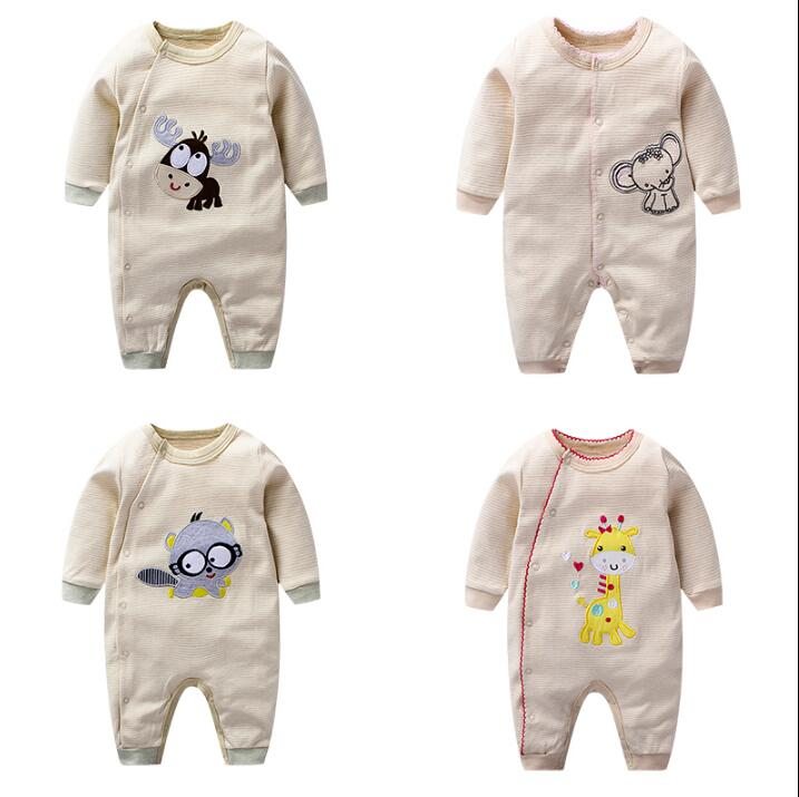 Baby Rompers Baby Clothing Fashion Summer Cotton Infant Jumpsuit Newborn Long Sleeve Girl Boys Rompers Costumes  Romper newborn baby rompers baby clothing set fashion cartoon infant jumpsuit long sleeve girl boys rompers costumes baby rompe fz044 2