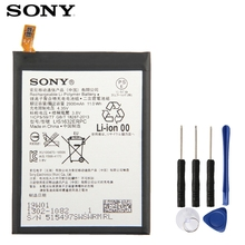 Original SONY Battery For Sony Xperia XZ F8331 F8332 DUAL LIS1632ERPC Genuine Replacement Phone Battery 2900mAh With Free Tools case for sony xperia l1 x xa ultra case wallet leather cover for sony xperia xz xr xz1 xz premium compact business style case