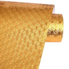 Кухня настенный обогреватель плита золото Фольга маслонепроницаемый Стикеры s Анти-помогает бороться с высокой температуре самоклеящиеся croppable стены Стикеры