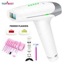 700000 Pulsed Light IPL Electric Epilator Hair Removal Permanent Bikini Trimmer Depilador Laser 5 Levels