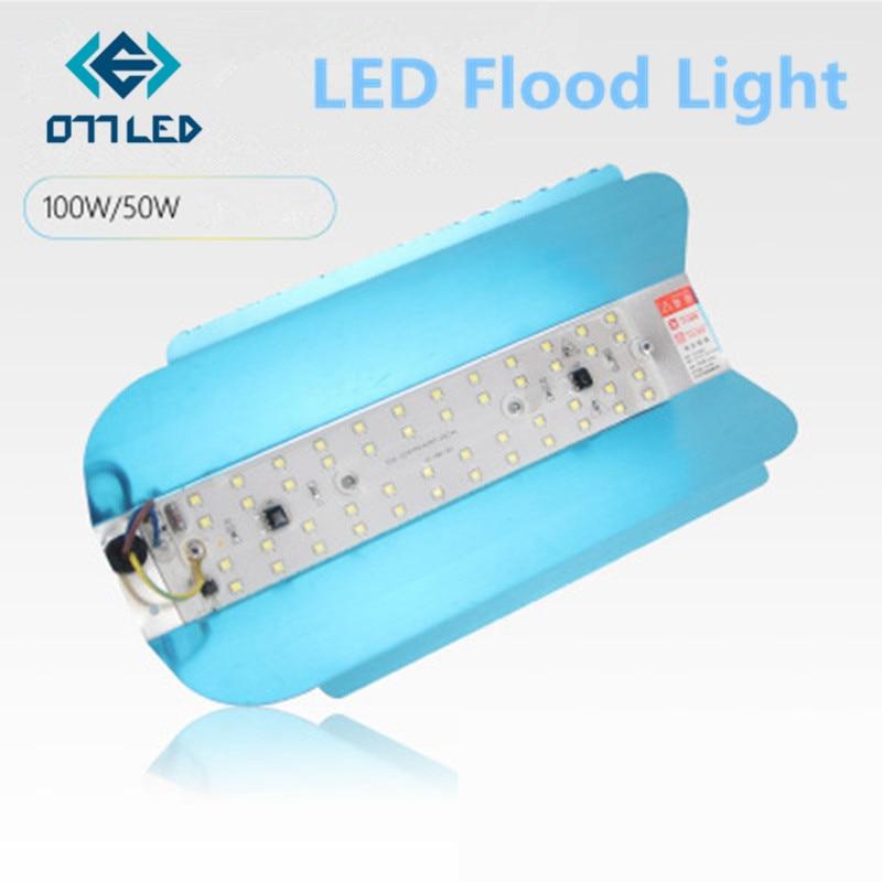 LED LODINE WOLFRAAM Schijnwerper 50W 100W Schijnwerper 220V LED Spotlight Refletor LED Outdoor Verlichting Gargen Lamp flood Muur