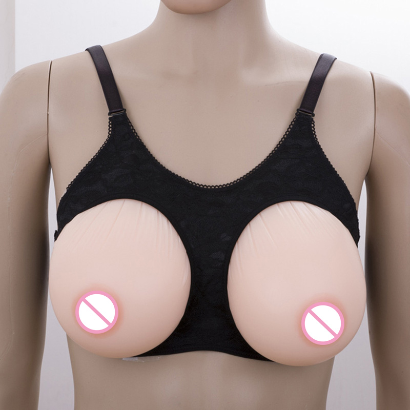 Breast Form Bra Drag Queen Silicone Breast Forms Travesti Fake Boobs Artificial Breast for Crossdressers Black 1800g 1pair 1000g d cup beige drop fake silicone breast form insert artificial soft touch boobs forms tits enhancer bra pad for woman