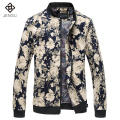 Fashion Men Jackets Flowers 2017 New Style Spring Autumn Men Jackets and Coats Casual Chaquetas Hombre 6XL Plus Size Slim Fits