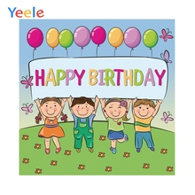 Yeele Baby Communion Party Wall Birthday Decoration Cartoon Children Students Photography Backgrounds Backdrops For Photo Studio