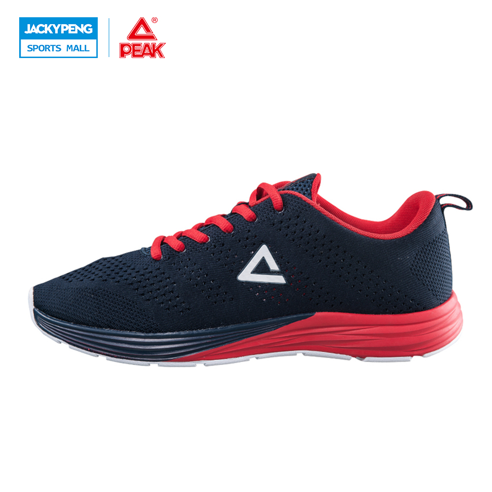 PEAK SPORT Men's  Comfortable Breathable Original Hombre Mens Athletic Outdoor Sport Shoes Women Running Shoes Size peak sport speed eagle v men basketball shoes cushion 3 revolve tech sneakers breathable damping wear athletic boots eur 40 50