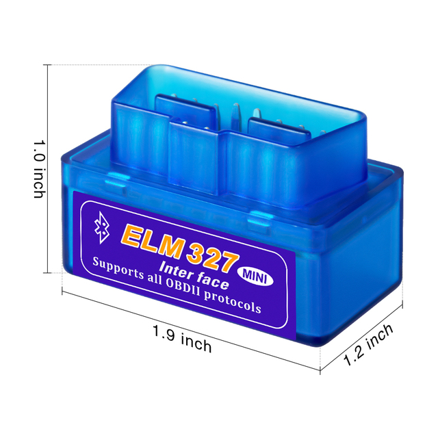 Super Mini ELM327 Bluetooth V2.1 OBD 2 Car Diagnostic Tool ELM 327 2.1 obd2 Code Reader For Android Supports OBDII Protocols