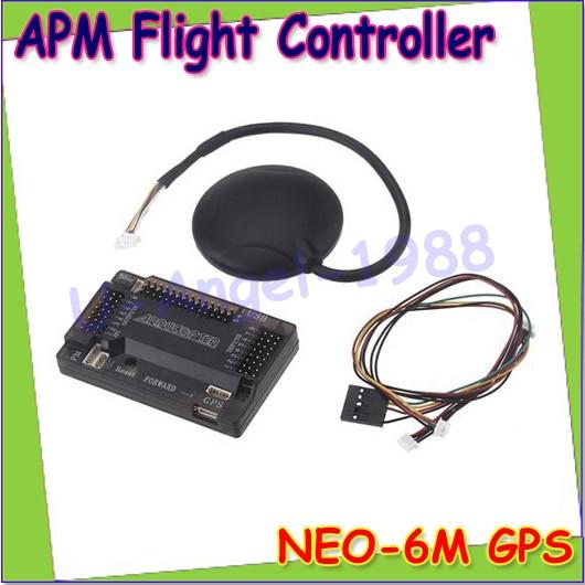ФОТО ArduPilot Mega APM2.6 Flight Controller Board Ublox 6M GPS with Compass APM 2.6 for FPV Multirotor Quadcopter Dropship