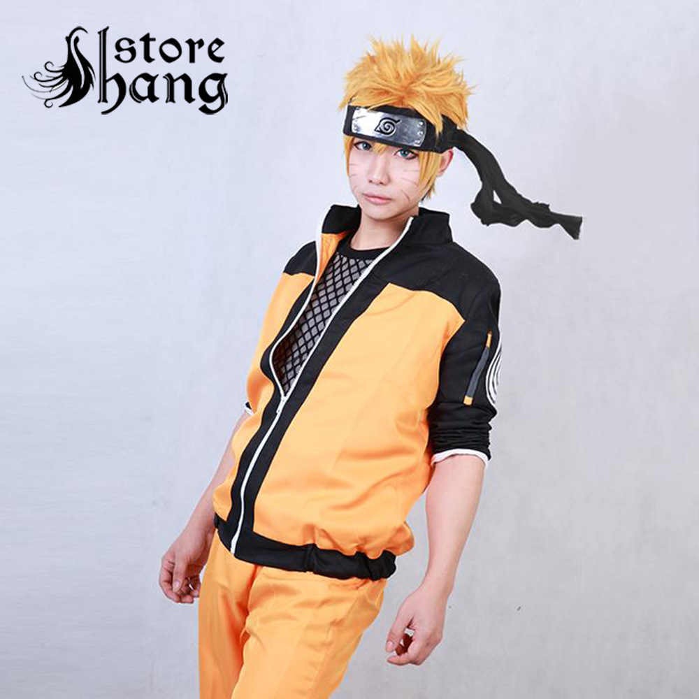 Hot Finished Japanese Anime Naruto Shippuden Uzumaki Naruto Cosplay Costume  Ninja Clothes Naruto Jacket Any Size Available|clothes to wear to a  club|clothes 2000clothes tommy - AliExpress