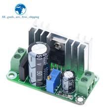 Lm317t DC-DC conversor ajustável buck step down placa de circuito módulo regulador linear fonte de alimentação com filtro retificador