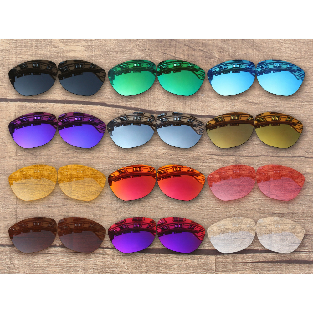 Vonxyz 20+ Color Choices Polarized Replacement Lenses For-Oakley Frogskins Frame