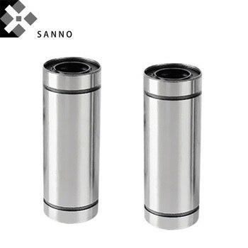 LM50LUU / LM60LUU long shank type linear ball bearing LM - LUU linear motion bushing bearing shaft