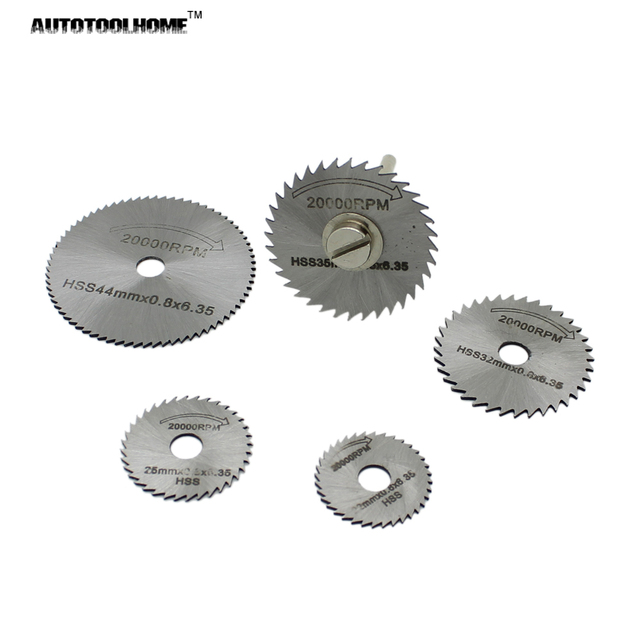 Autotoolhome 6pc hss mini circular saw blades set wood aluminum autotoolhome 6pc hss mini circular saw blades set wood aluminum cutting disc for dremel rotary tools keyboard keysfo Image collections