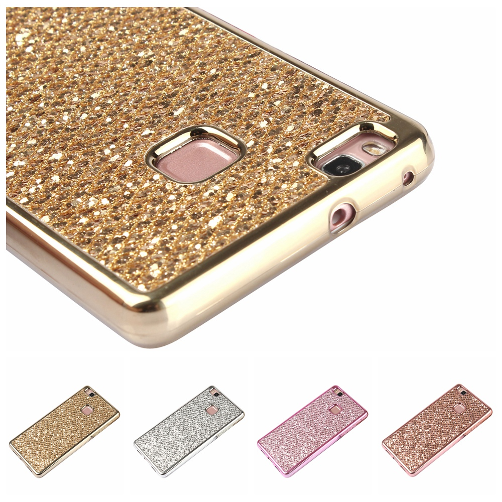 Gertong Glitter Bling Soft Silicone Case For Hauwei P8 Lite P8 P9 P10 Lite Y5ii Y6ii Phone Cover Cases Fundas Coque Shell