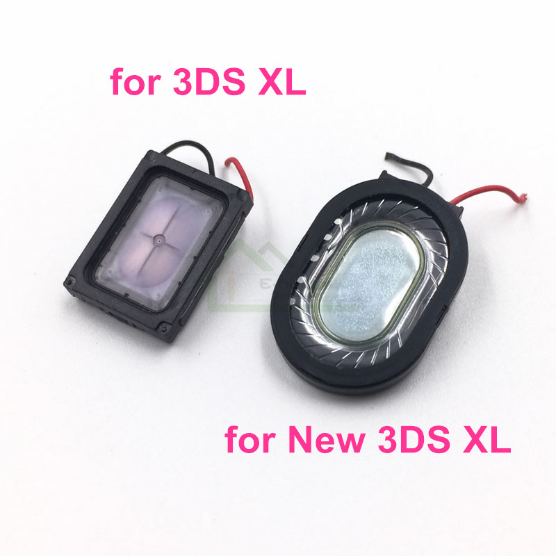 2pcs Original Used Internal Speaker Loudspeaker Replacement for 3DS XL/ LL for New 3DS XL/ LL Game Console