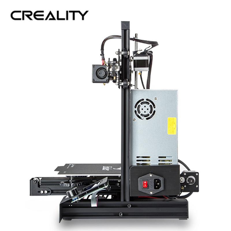 Ender 3 o ender 3 PRO 3D Printer Creality DIY Kit auto ensamblado con mejora de la potencia de impresión de CV/para PLA PETG ABS NYLON/ - 4