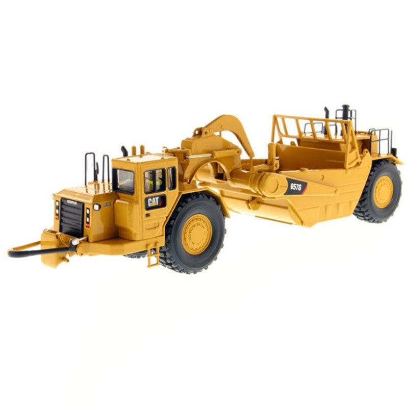1: 87 échelle CAT 627G camion de Transport racloir simulé Transport alliage véhicule moulé sous pression 85134 pour enfants jouet cadeaux pour Collection