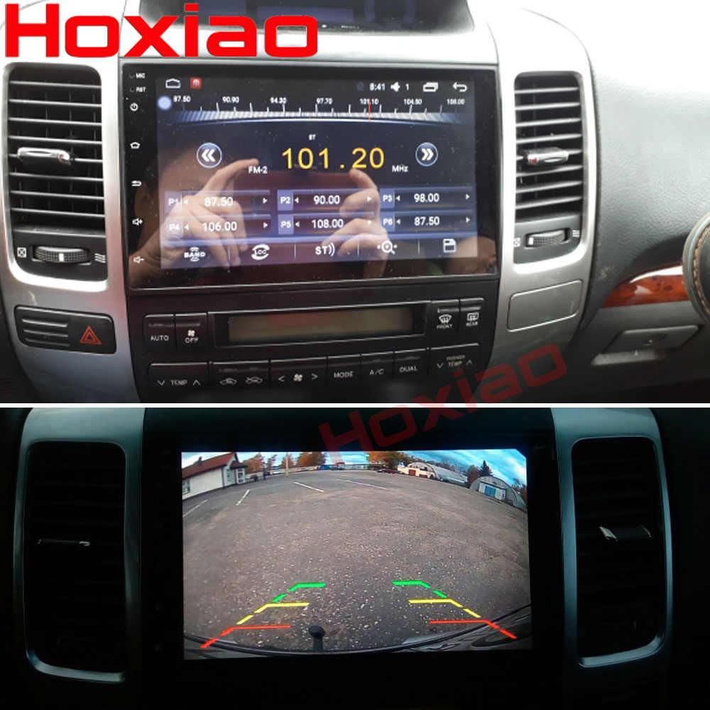 2G + 32 Android para Toyota Prado 120 Land cruiser 120 2004-2009 Quad Core 1024*600 bluetooth 2 Din Car DVD Radio GPS de navegación